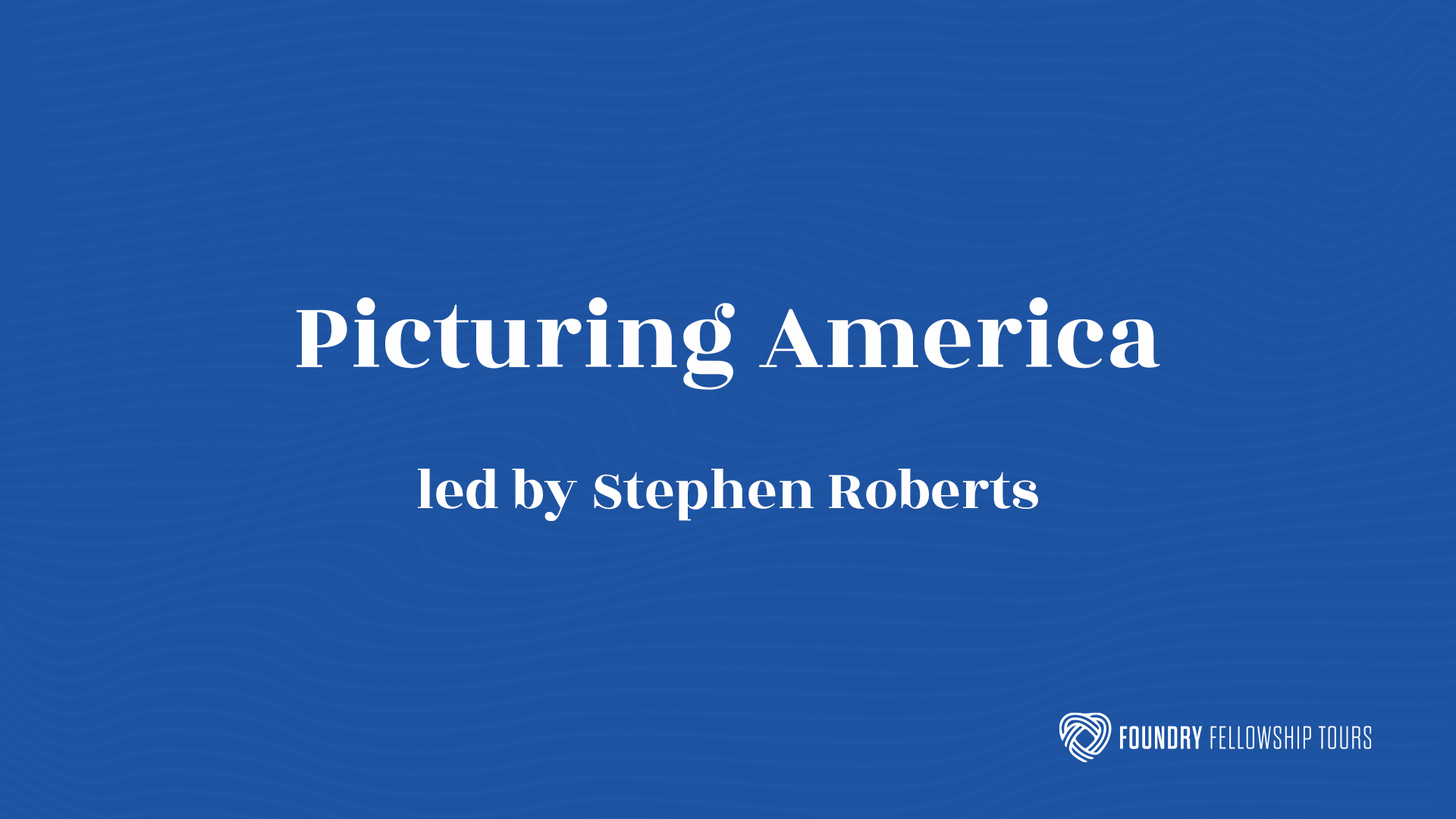 Picturing America Through the Eyes of Artists