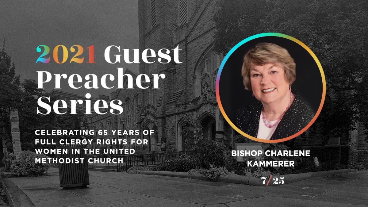Sunday Worship - Guest Preacher: Bishop Charlene Kammerer