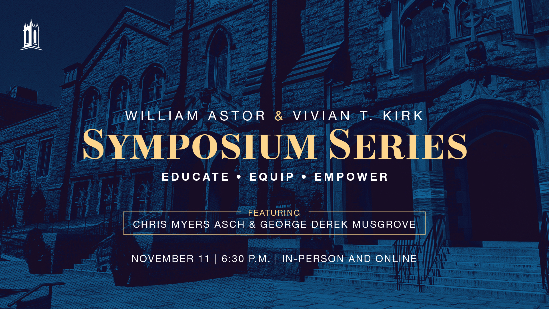 William Astor and Vivian T. Kirk Symposium Lecture with Dr. Chris Myers Asch and Dr. George Derek Musgrove