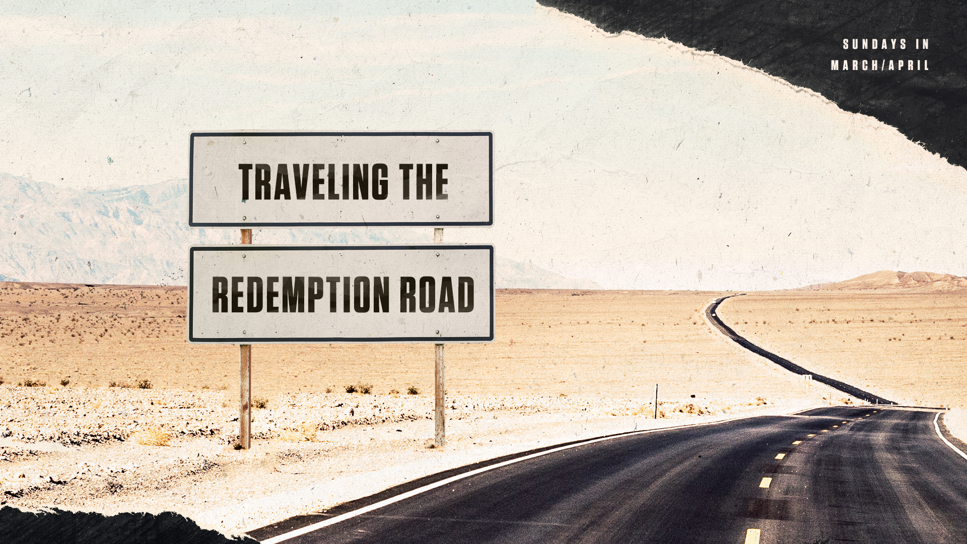 Traveling The Redemption Road
